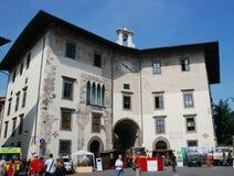 Straße in Pisa Italien Lizenzfreie Stockfotos