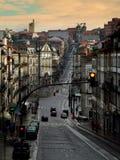 Straße in Porto Stockfotos