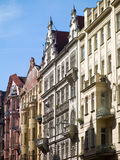 Straße in Prag stockbild