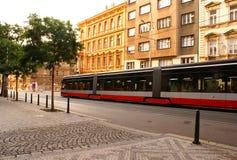 Straße in Prag Lizenzfreie Stockbilder