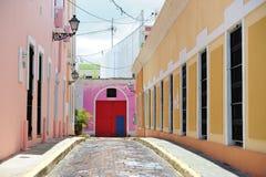 Straße in Puerto Rico Stockbilder
