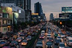 Straße Rama IV Stockfotos