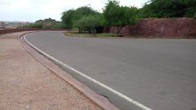 Straße in Richtung zum Palast Lizenzfreie Stockfotos