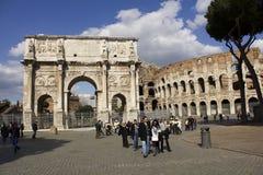 Straße Rom Italien stockbild