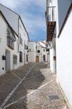 Straße in Ronda Stockfotografie