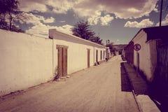 Straße in San Pedro de Atacama, Chile Lizenzfreies Stockfoto