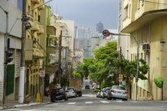 Straße in Sao Paulo lizenzfreies stockbild