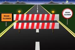 Straße schloß Lizenzfreies Stockbild