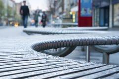 Straße Seat Stockfoto