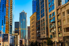 2. Straße Seattle Lizenzfreies Stockfoto