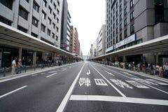 Straße Shijo Dori Stockfotos