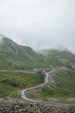 Straße in Sichuan, China Lizenzfreies Stockbild