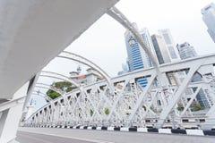 Straße in Singapur Stockbilder