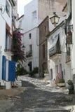 Straße in Spanien. Lizenzfreies Stockfoto