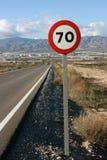 Straße in Spanien Stockfoto