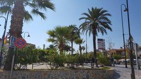Straße in Spanien Stockbild
