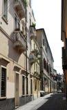 Straße Sperone Speroni in Padua im Venetien (Italien) Lizenzfreie Stockfotos