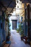 Straße Tangers Medina stockfoto