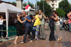 Straße-Tango in Monza am 14. Mai 2017 Lizenzfreie Stockbilder