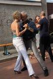 Straße-Tango in Monza am 14. Mai 2017 Stockbild