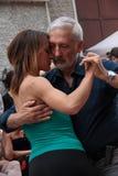 Straße-Tango in Monza am 14. Mai 2017 Lizenzfreies Stockbild