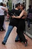 Straße-Tango in Monza am 14. Mai 2017 Stockfotografie