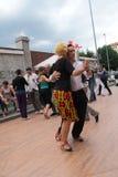 Straße-Tango in Monza am 14. Mai 2017 Stockfotos