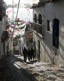 Straße in Taxco Lizenzfreie Stockfotografie