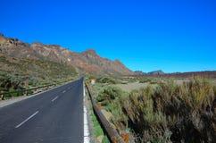 Straße, Teneriffa, Kanarische Inseln stockfotos