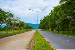 Straße in Thailand Stockbild