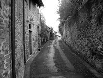 Straße in Toskana Stockbild