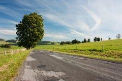 Straße und Landschaft Stockbilder
