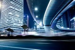 Straße und städtischer Hintergrund lizenzfreie stockbilder