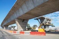 Straße unter Rekonstruktion Lizenzfreie Stockfotografie