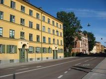 Straße in Uppsala Lizenzfreie Stockfotografie