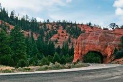 Straße in Utah lizenzfreies stockbild