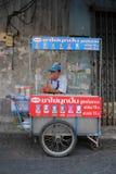 Straße Vednor in Bangkok Lizenzfreies Stockbild