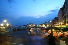 Straße in Venedig Stockfotografie