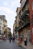 Straße in Verona Lizenzfreie Stockbilder