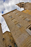 Straße von altem Budva Lizenzfreie Stockbilder