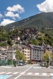 Straße von Andorra Lizenzfreie Stockbilder