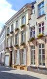 Straße von Brügge Stockbilder