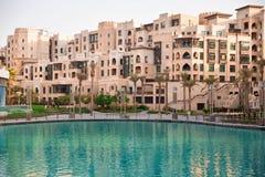 Straße von Dubai Stockfotografie
