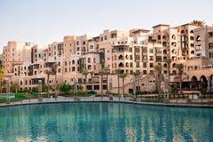 Straße von Dubai Lizenzfreie Stockfotos