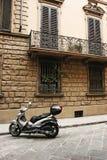 Straße von Florenz Stockfotos
