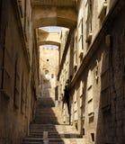Straße von Jerusalem Stockfoto