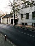 Straße von Klausenburg-Napoca Lizenzfreies Stockbild