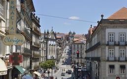 Straße von Klerikern Stockfoto