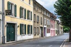 Straße von La Frette-sur die Seine Lizenzfreie Stockbilder