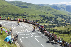 Straße von Le-Tour de France Lizenzfreies Stockfoto